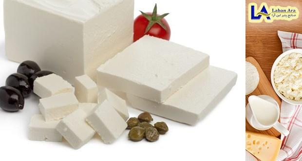 پنیر سفید تازه گرمی