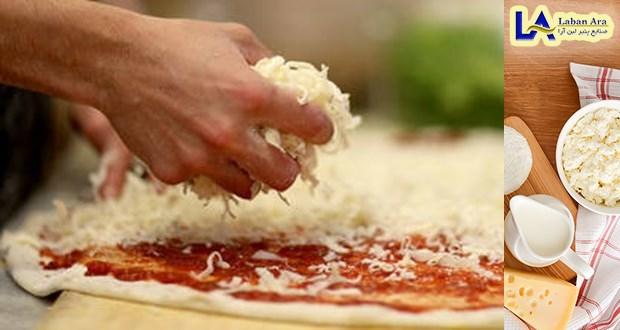 پنیر پیتزا با بهترین استاندارد