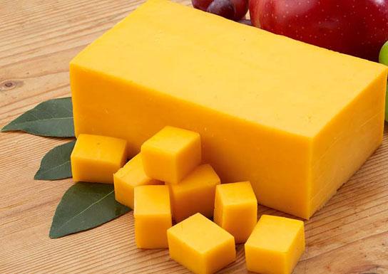 پنیر زرد صبحانه